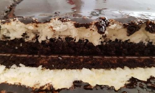 עוגת קוקוס ושוקולד שיטת ה-30