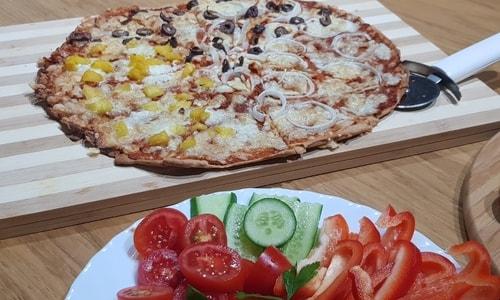 פיצה מכוסמין מלא שיטת ה-30